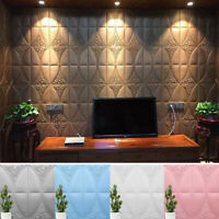 3D Brick Pattern Wall Decal Paper Self-Adhesive Sticker Bedroom Home Decoration