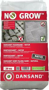 Dansand No Grow Block Paving Sand 20kg Collection Only