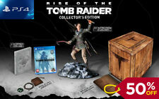 Rise of the Tomb Raider - PS4 Collectors Edition - SEALED - WORLDWIDE SHIPPING!