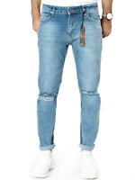 Catch Herren Designer Slim Skinny Fit Röhren Stretch Jeans - UVP*79€ - W29 L30