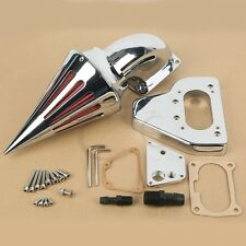 Chrome Air Cleaner Kits Intake Filter For Honda VTX 1800 02-09 Billet Aluminum