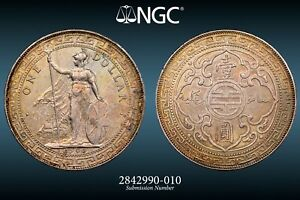 1903 B Great Britain Silver Trade Dollar - NGC UNC Details