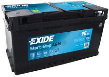 EXIDE Autobatterie Batterie 95Ah EK950 Start-Stop AGM zzgl. 7,50€ Batteriepfand