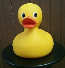 Jumbo Yellow Rubber Ducky Makes Noise