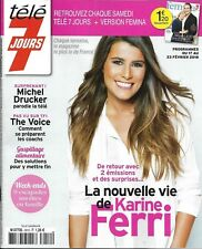 TELE 7 JOURS n°3012 17/02/2018  Karine Ferri_Michel Drucker_The Voice_Vuillemin