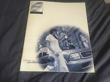 1998 GMC S15 Jimmy Color Brochure Catalog Prospekt