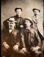 Rare Antique Tintype of the Earp Brothers Old West Top Lot