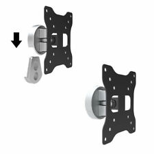 Swivel Monitor Wall Mount for Asus Acer Dell Hp Nec Lg BenQ 20 21 22 23 24 27""