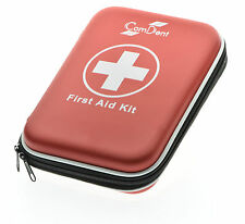 90 Piece Premium First Aid Kit Hard Shell Case Home Travel School Office work UK