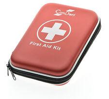 90 pedazo Premium Kit de Primeros Auxilios Estuche rígido de escuela de viaje para el hogar trabajo de oficina Reino Unido