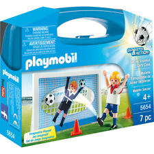 Playmobil Sports & Action Football Soccer Shootout Carry Case - 5654