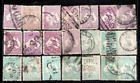 Australie KGV 9d & 1 unchecked Roo collection WS6012