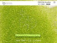 0.5 kg Czech Preciosa Rocaille 11/0 Glass Seed Beads Color 50220 Wholesale