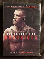 Conor McGregor: Notorious (DVD, 2017),Widescreen, Dolby Digital 5.1