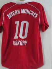 "Bayern Munich 2005-2007 Makaay 10 Hogar Camiseta De Fútbol Tamaño 32"" -34""/39103"