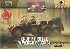 Modellini statici di veicoli militari per Krupp scala 1:72