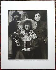Scarce SANFORD KREGER Signed Artist Proof Photograph JOHN LENNON YOKO ONO 1977 a