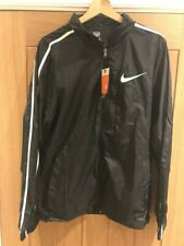 NIKE MENS RUNNING JACKET BRAND NEW WITH TAGS XMALL 30/32 PACKABLE PLIABLE BLACK