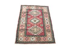 Pink Oushak Rug, Turkish Design Rug, Handmade Rug, Wool Rug, Traditional Rug