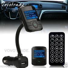 HOTSALE Wireless Bluetooth LCD FM Transmitter Car Kit MMC  MP3 Player Modulator