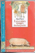 Les CONTES ROUGES du CHAT PERCHÉ Marcel AYMÉ Dessins de Philippe DUMAS Gallimard