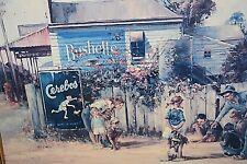 D Arcy Doyle vintage print 82 x 55 cm Bushells Tea Cerebos framed large print
