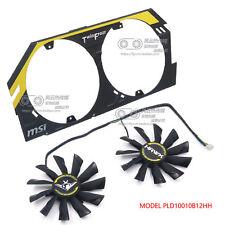 PLD10015B12H DC 12V 0.55A For MSI R9 270X R9-270X R9-280X 95mm Fan M2317 QL