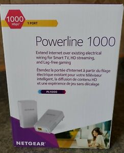 NETGEAR Powerline 1000 Extender