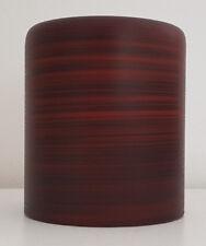 Verre Abat-Jour de Rechange Cylindre marron Dimension Trou Monture Ø 30 Mm