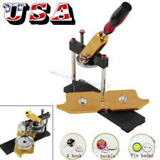 �Usa】Badge Button Maker Machine Circle Cutter Metal Punch Tool Round 58mm Mold