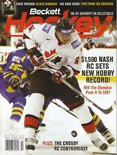 Rick Nash--2006 Beckett Hockey Magazine--Team Canada/Columbus Blue Jackets