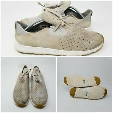 Natives Tan Khaki Suede Slip On Running Low Shoes Sneakers Mens Size 12