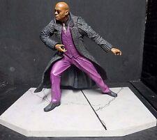 "Matrix Reloaded MORPHEUS (Laurence Fishburne) McFarlane Toys spawn.com 6"" Figure"