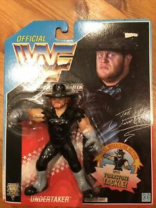 wwf hasbro moc The Undertaker