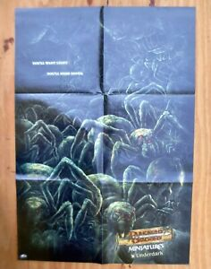 DUNGEONS & DRAGONS UNDERDARK Wizards of the Coast Promotional Poster 2005 Promo