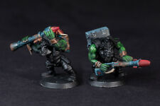 Rokkit launcha bits for Greenskin Orks Army as alternative Tankbustas