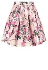 NWT Ted Baker London Clarbel Blossom Jacquard Skirt Pink TB 1 US 4 $295