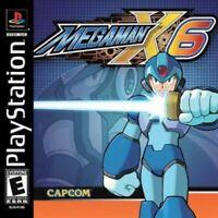 Mega Man X6 - PS1 PS2 Playstation Game