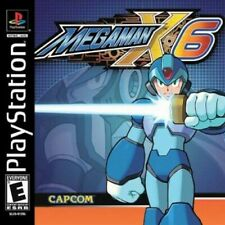 Mega Man X6 - PS1 PS2 Playstation Game