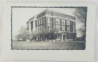 Antique RPPC Real Photo Postcard - Building in Idabel, Oklahoma