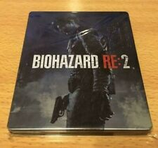 Resident Evil Re 2 Biohazard Limited Steel Book Only PS4 Capcom Benefits