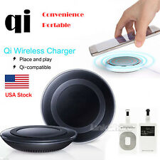 Qi Wireless Charging Pad Charger For iPhone 11 X Samsung Galaxy S10 S8 S7 Note9