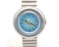 Breil Okay per lady, meccanico manuale Quadrante azzurro, inusato anni '70