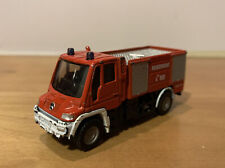 Siku 1636 Mercedes-Benz Unimog Fire Rescue Truck Feuerwehr Germany 1:87 Ho 2569