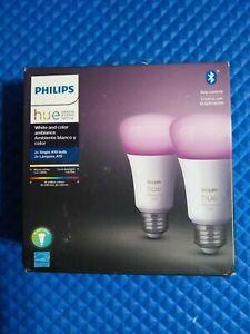 Philips Hue White & Color Ambiance LED Smart Bulb