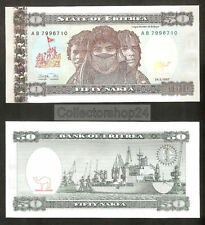 Eritrea 50 Nakfa 1997 Unc pn 5