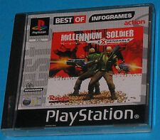 Millenniun Soldier Expendable - Sony Playstation - PS1 PSX - PAL