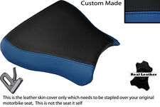 BLACK & ROYAL BLUE CUSTOM FITS SUZUKI GSXR 600 750 SRAD 96-00 FRONT SEAT COVER