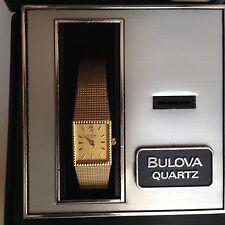 Bulova Diamond Female Watch MVT W. Germany 510 92F44 Mint Works