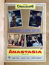 ANASTASIA fotobusta poster Hayes Brynner Ingrid Bergman Oscar Y4